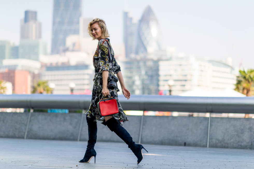 fall-dresses-fall-prints-boho-prints-fall-bags-over-the-knee-boots-black-heeled-boots-lfw-street-style-elle-com_