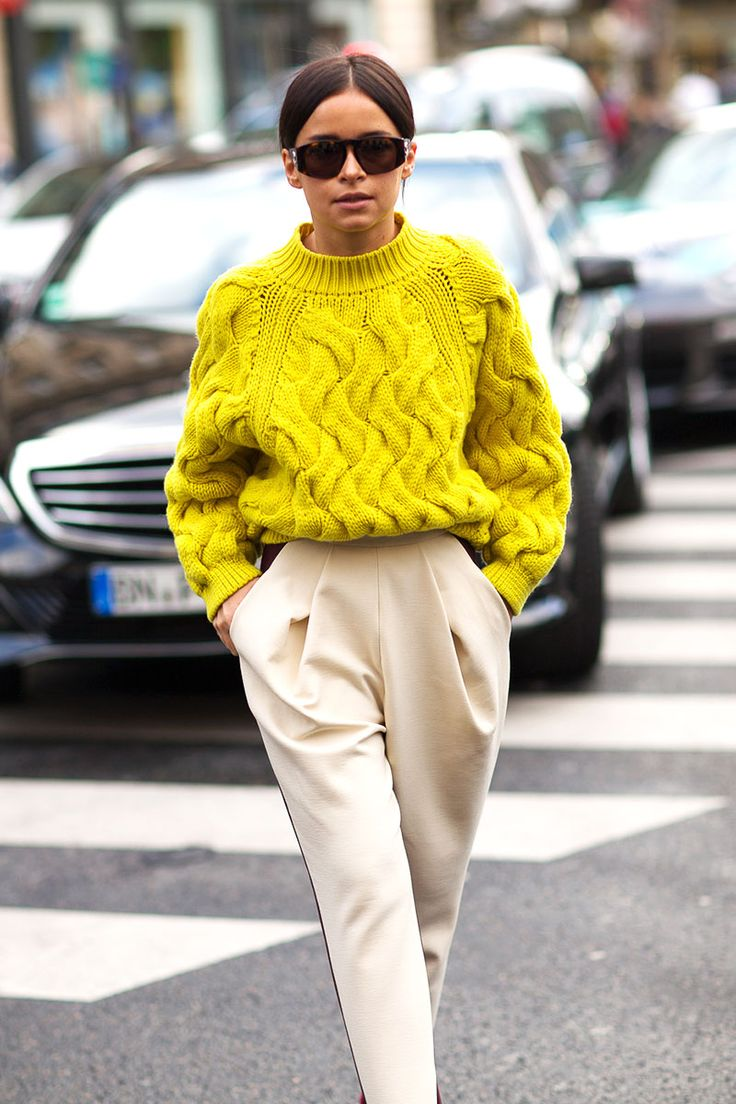 How To Wear A Knit Style It Up